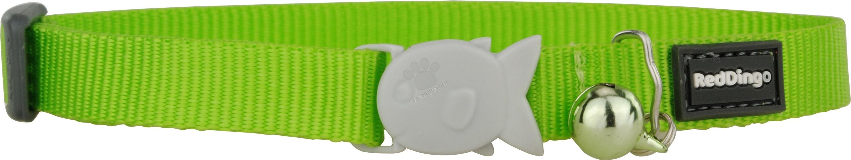 Red Dingo Cat Collar Classic Lime Green - котешки нашийник, 12 мм х 20-32 см