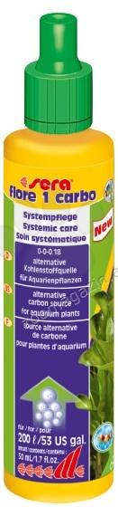 Sera - Flore 1 Carbo - течен въглероден диоксид за аквариумни растения 50 мл