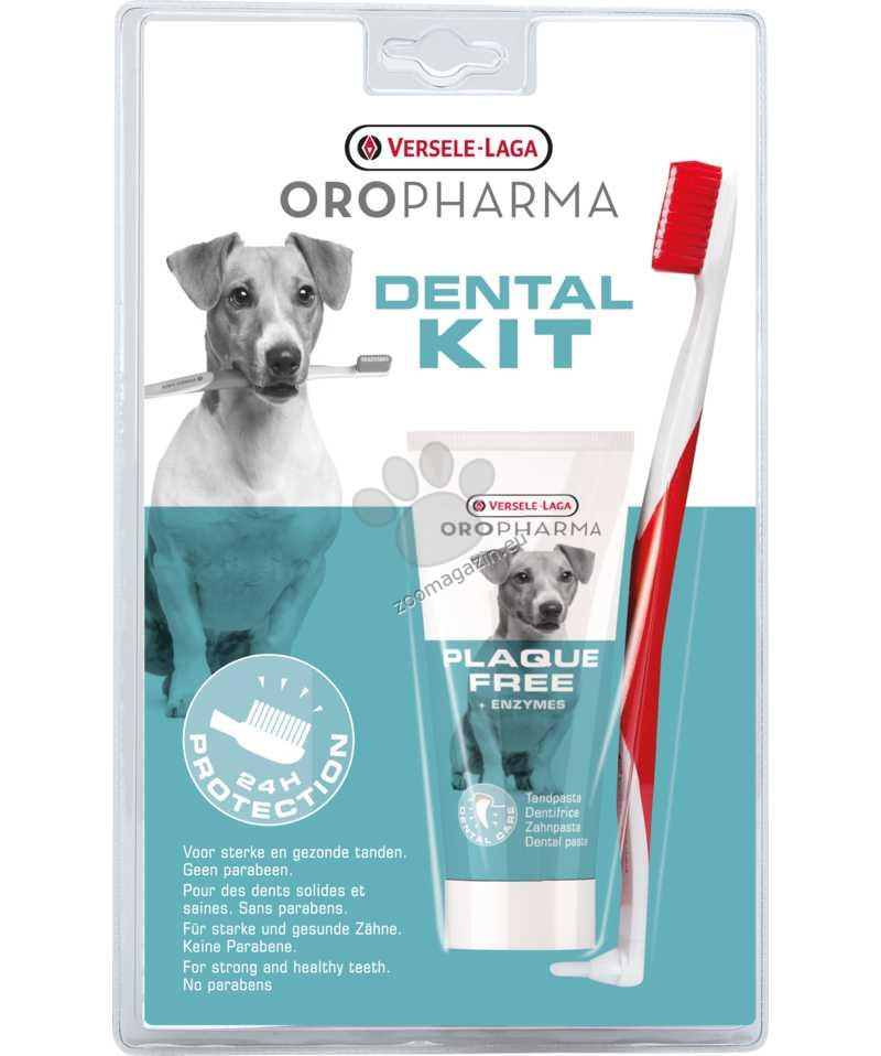 Versele Laga - Oropharma Dental Care Kit toothpaste + toothbrush - комплект четка и паста за зъби