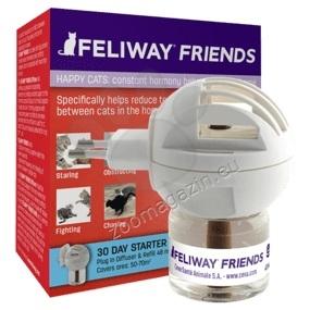Ceva Feliway Friends - спомага за създаване на хармония в дом с повече от една котка / дифузер и пълнител /
