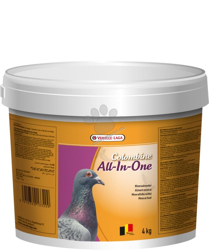 Versele Laga - All-In-One - пълноценен микс за гълъби всичко в едно 4 кг.