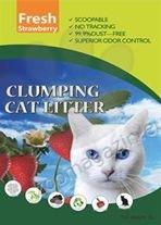 Valenger Clumping Cat Litter Fresh Strawberry - бентонитова тоалетна с аромат на ягоди 5 литра
