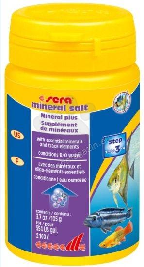 Sera - Mineral Salt - за безопасно обогатяване с минерали на ниско минерализирана вода 105 гр.