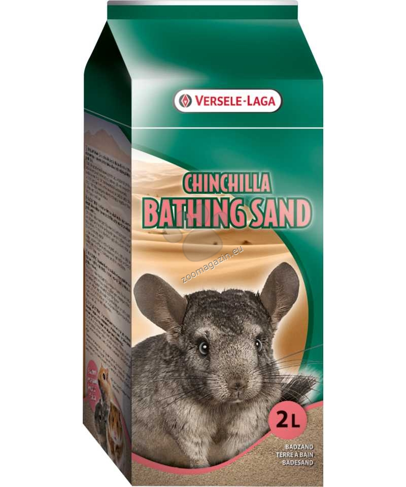 Versele Laga - Chinchilla Bathing Sand  - пясък за къпане на чинчили  1.300 кг.