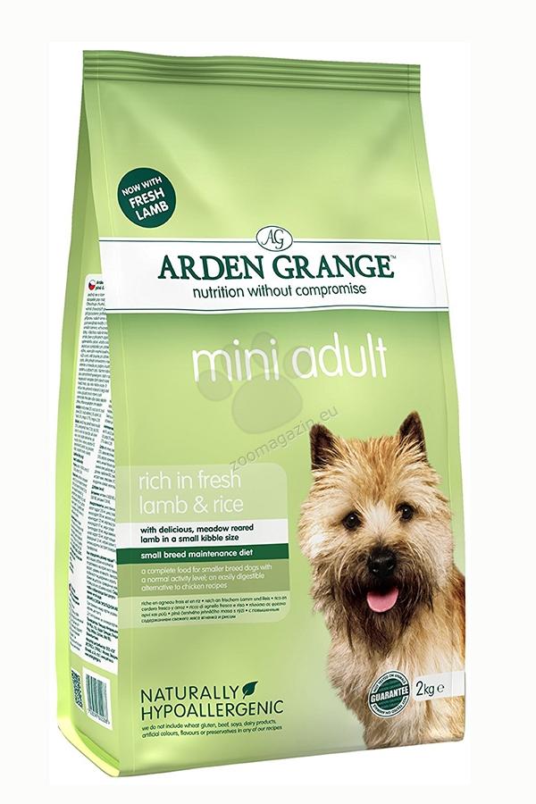 Arden Grange - Adult Mini Lamb & Rice - с агнешко месо, за кучета малки породи до 10 кг. и възраст над 12 месеца  2 кг.