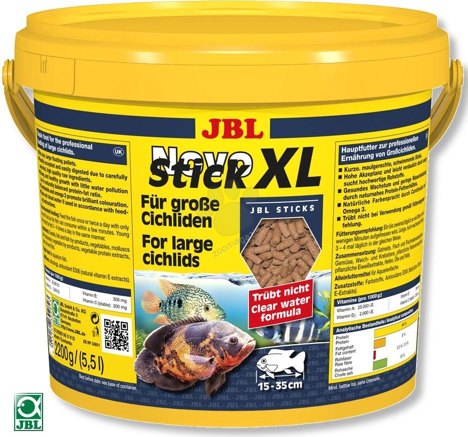 JBL NovoStick XL - за големи месоядни цихлиди - 5500 мл. / 2200 гр. /