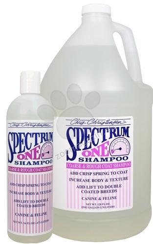 Chris Christensen Spectrum One Shampoo for Coarse & Rough Coats - шампоан за териери и кучета с двойна козина 3785 мл.