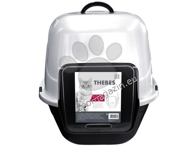 M-Pets Thebes - закрита котешка толаетна 62 / 53 / 58 см.