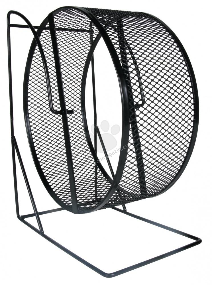 Trixie - Exercise Wheel - колело за хамстери и мишки ø 28 cm / червено, черно, зелено /