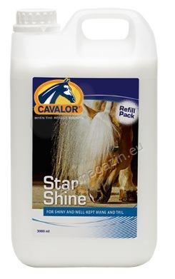 Cavalor Star Shine - балсам за лъскава козина, грива и опашка, улесняващ разресването 500 мл.