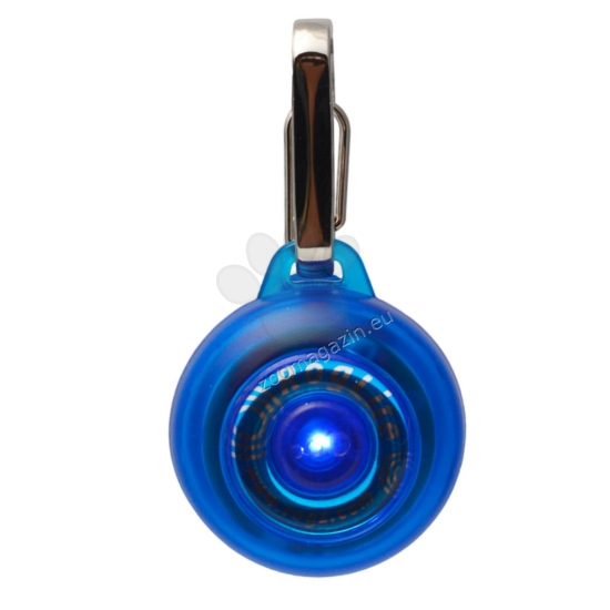 Rogz ID-Tag-Roglite-IDL02-B-Blue - светещ флаер 31 мм.