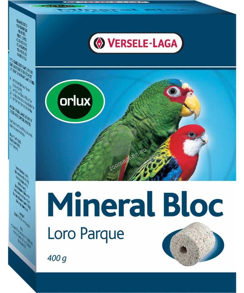 Versele Laga - Orolux Mineral Block - минерален микс за средни и големи папагали  400 гр.