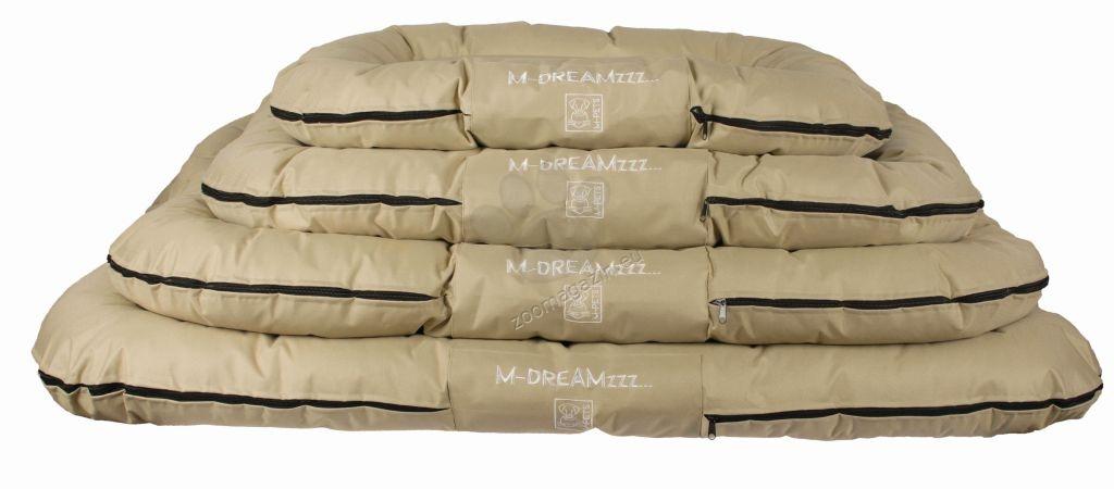 M-Pets Folster Mat - непромокаемо легло 120 / 90 см. / бежаво, сиво /