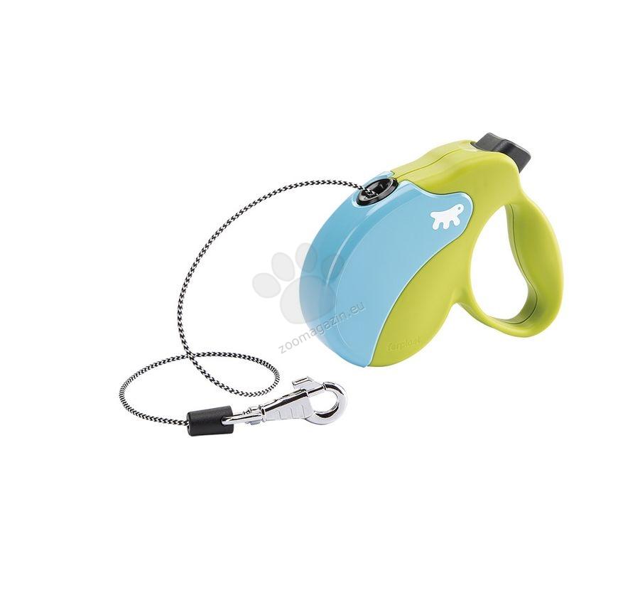 Ferplast - Amigo Colours Cord Mini Green Turcuoise - 3 метра въже, за кучета с тегло до 12 кг.