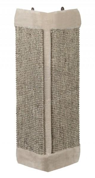 Nobby Corner Board - ъглова драскалка 61 / 32 см. / сива, бежова /