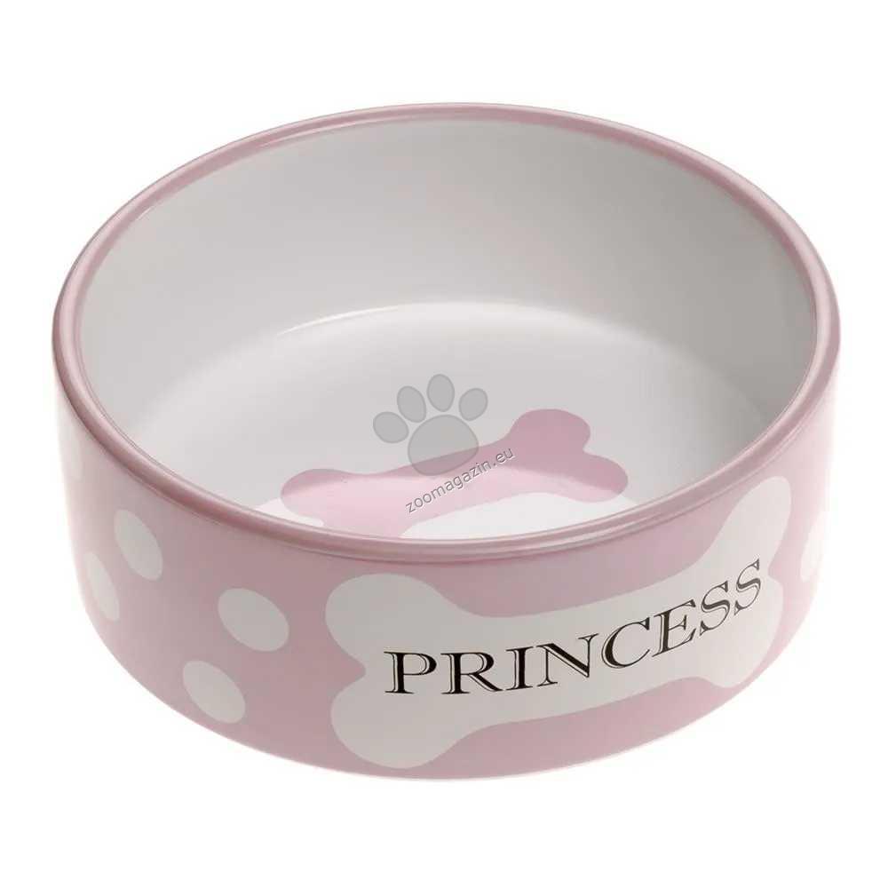 Ferplast Thea Medium Princess Bowl - керамична купичка Ø 16.3 x 6.1 см