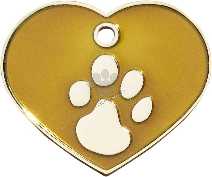 iMARC - Brown Elegance Heart Gold