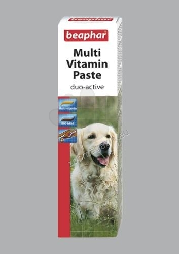 Beaphar Multi vitamin paste duo active - мултивитаминна паста 100 гр.