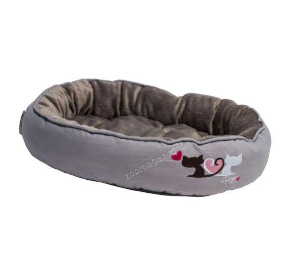 Rogz Snug Podz Heart Tails -σχεδιαστικά άνετο μαλακό κρεβάτι 56 / 39 / 13 cm. cpm01