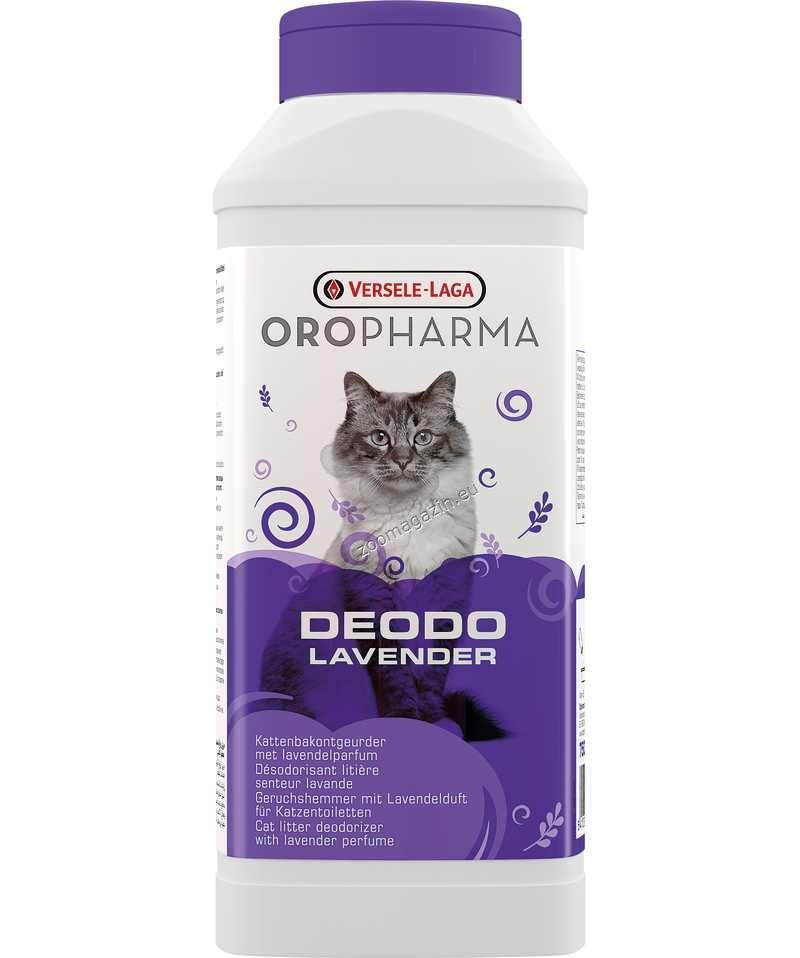 Versele Laga - Oropharma Deodo Odour Control Lavender -  деодорант на прах за котешка тоалетна с аромат на лавандула 750 гр.
