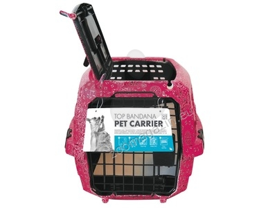 M-Pets Top Pet Carrier pink - транспортна чанта / с горно отваряне / 46 / 23 / 31 см.