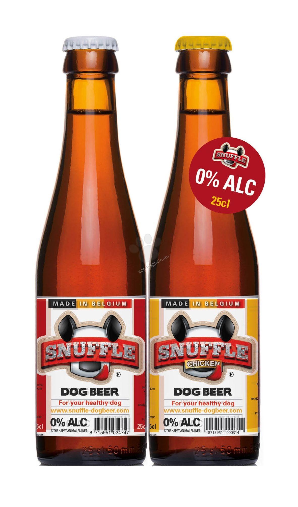 Snuffle Dog Beer Chicken - кучешка бира 250 мл.