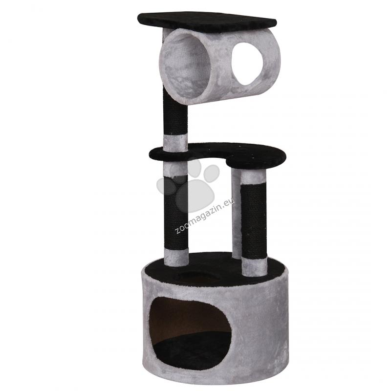 EBI Comfort Oxford - котешка катерушка - черен/сив - 45 / 45 / 108 см.