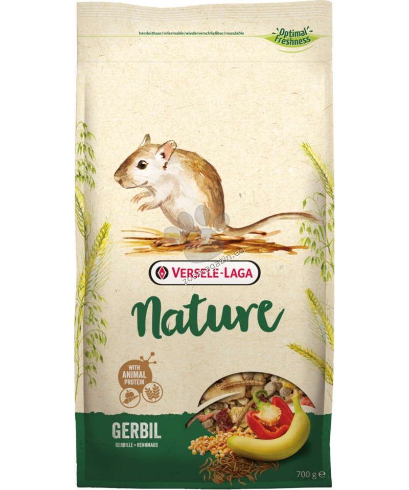 Versele Laga - Nature Gerbil - пълноценна храна за джербили 700 гр.