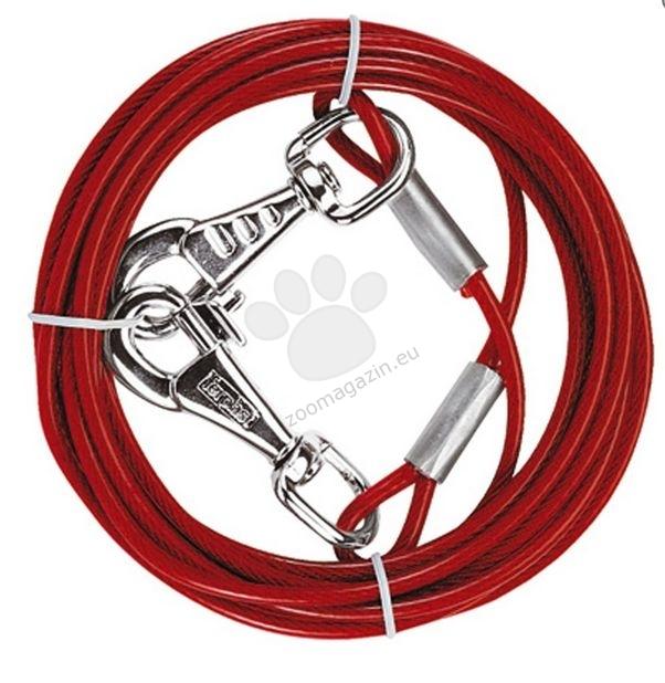 Ferplast - pa5985 - стоманено въже за двор, 3 метра