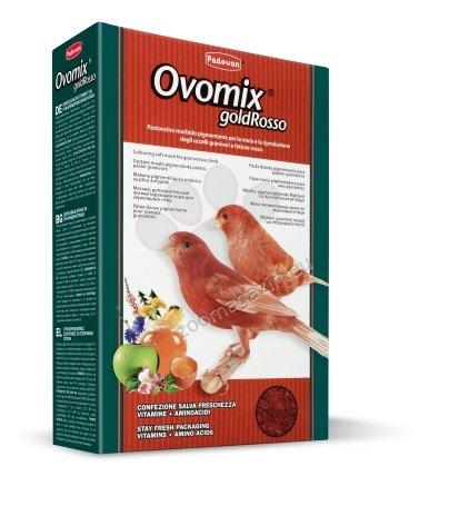 Padovan OvoMix gold rosso - хранителна добавка за канарчета, вълнисти папагали и екзотични птици 1 кг.