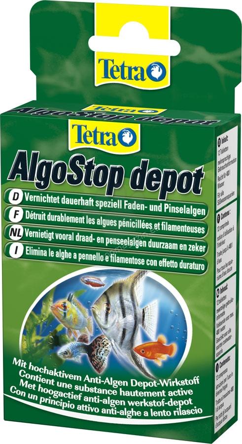 Tetra - Algostop Depot - за целеви дългосрочен контрол на водораслите алги 12 таблетки