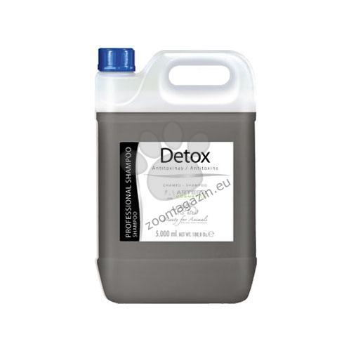 Artero Detox - шампоан с активен въглен 5 литра
