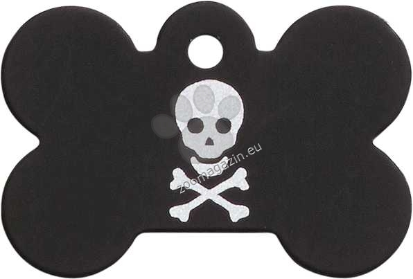 iMARC - Black Pirate Skull Bone