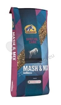 Cavalor Mash Mix Expert - храна с висока усвояемост, против колики 15 кг.