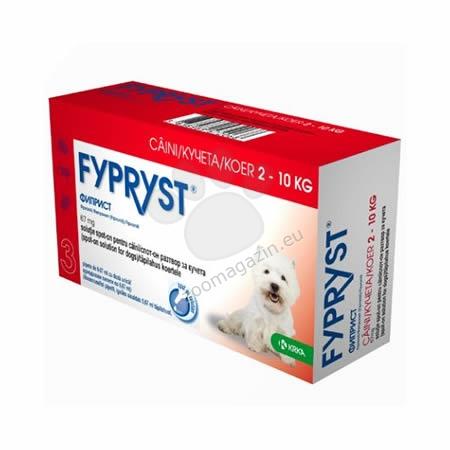 Fypryst 67 mg. - за кучета с тегло от 2 до 10 кг. / 3 броя пипети /