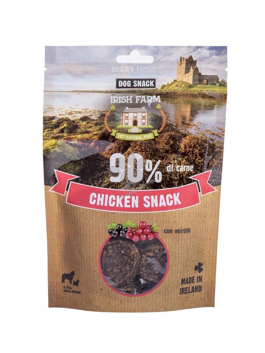 Irish Farm Chicken Snack - пилешки дискове с боровинки 80 гр.