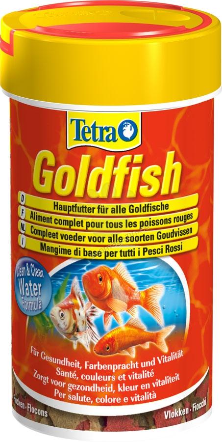 Tetra - GoldFish - специализирана храна за всички видове златни рибки 250 мл.
