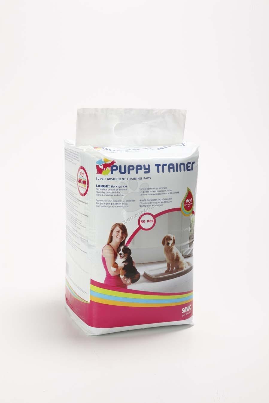 Savic Puppy Pads - подложки за starter kit large 100 бр., 60 / 45 см.