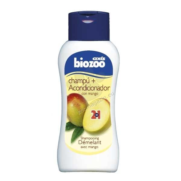 Biozoo Shampoo 2 in 1 - шампоан и балсам с масло от манго  250 мл.