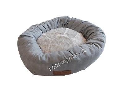 M-Pets Samoa - кръгло легло 55 см. / сиво, черно /