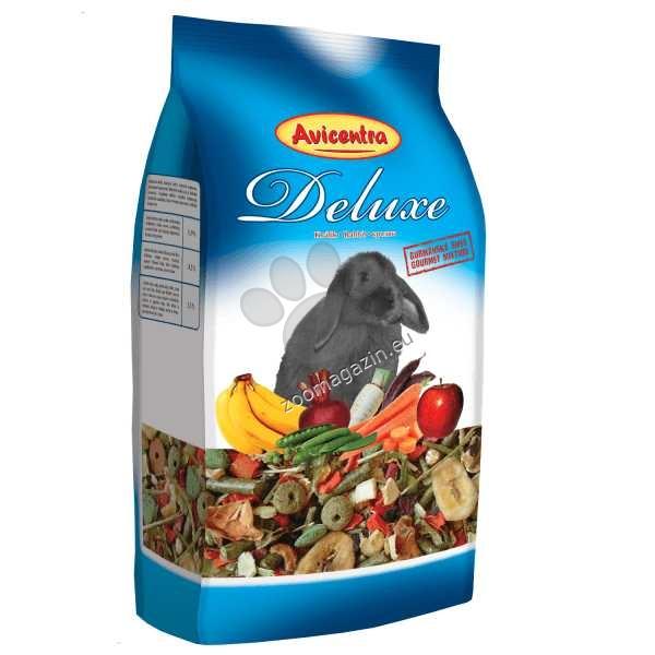 Avicentra Deluxe rabbit - пълноценна храна за мини зайччета 1 кг.