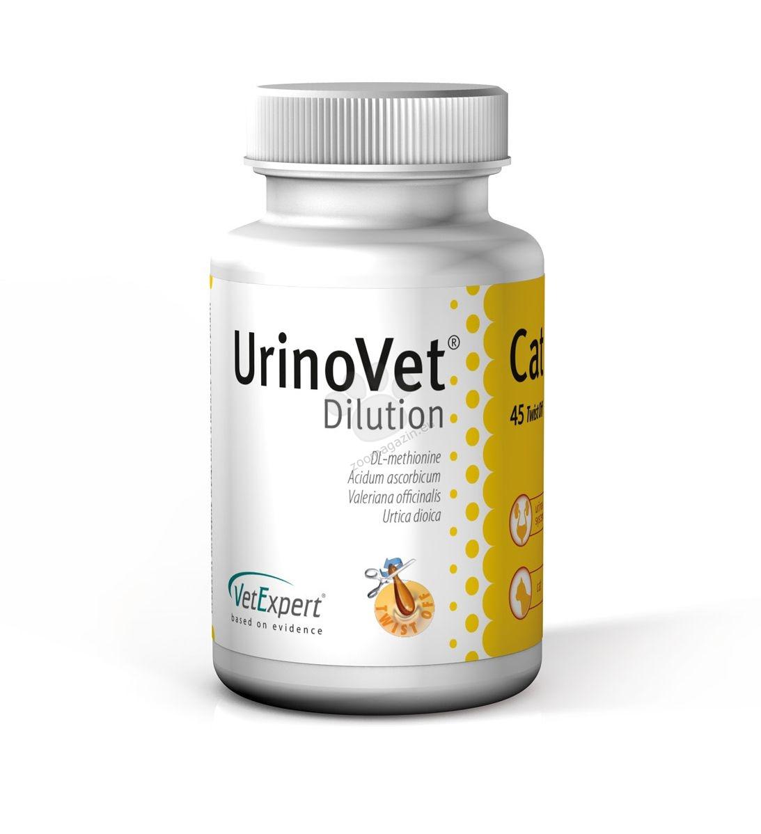 Vetexpert Urino Vet Dilution - най-силната защита от струвитна уролитиаза 45 капсули
