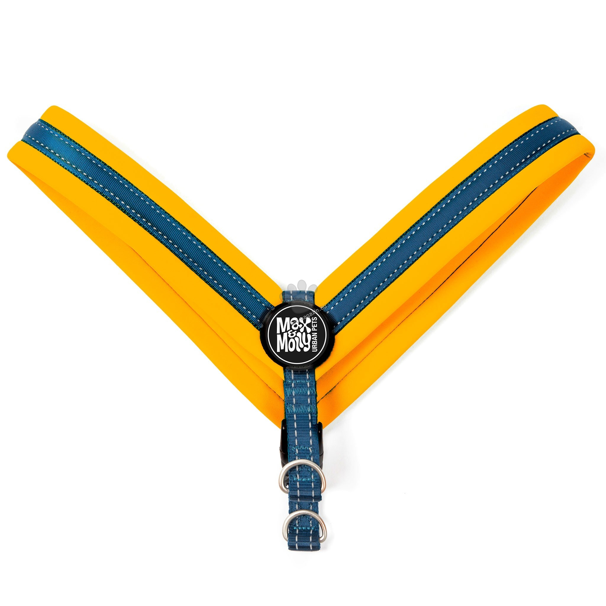 Max Molly H-Harness Q-Fit Orange S - нагръдник за кучета с обиколка на гърдите 33 - 37 см.