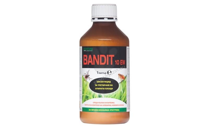 Бандит 10 ЕВ - Основно за контрол на бълхи, кърлежи, хлебарки, комари, мухи 25 мл.