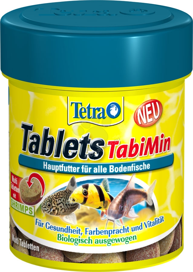 Tetra - TabiMin - храна за дънни рибки 120 таблетки