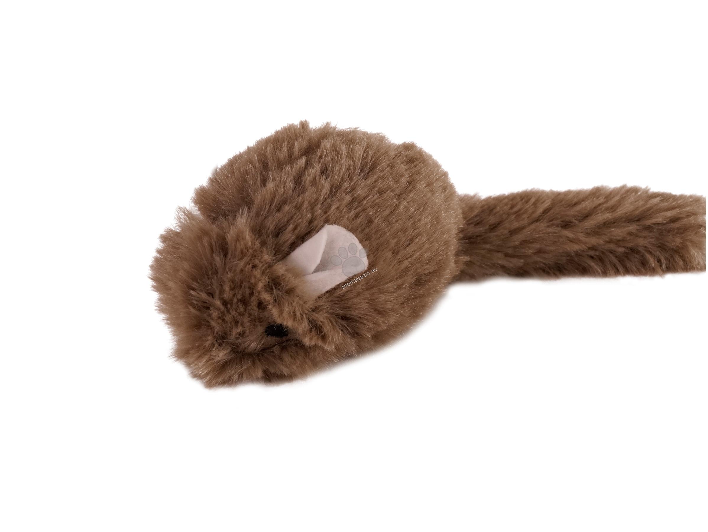 Vadigran Cat toy plush mouse - Плюшена мишка 2 бр, 15 см.