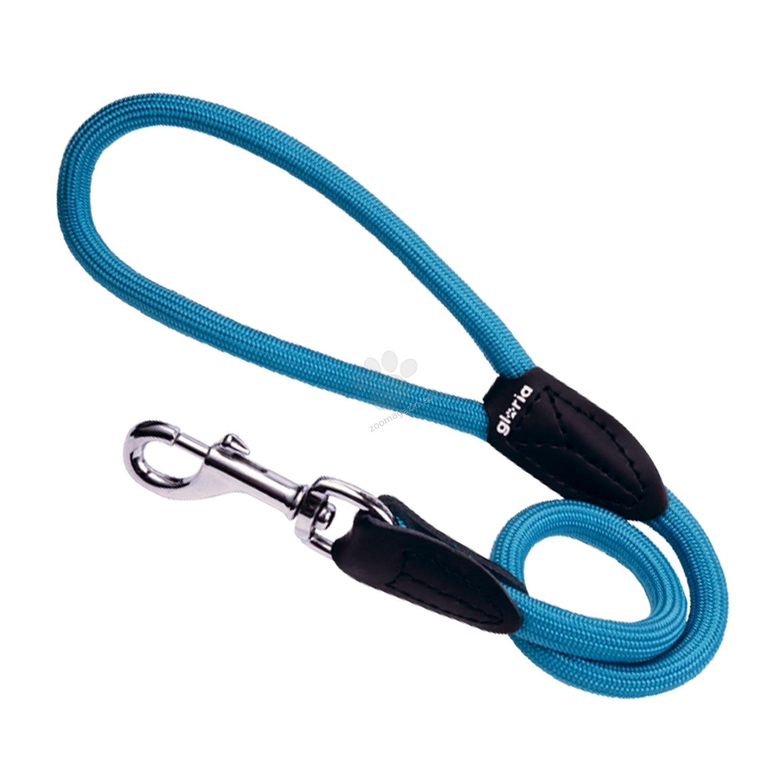Gloria Lead - повод въже - 120 см, 10 мм /син, лилав, оранжев, черен, червен, зелен/