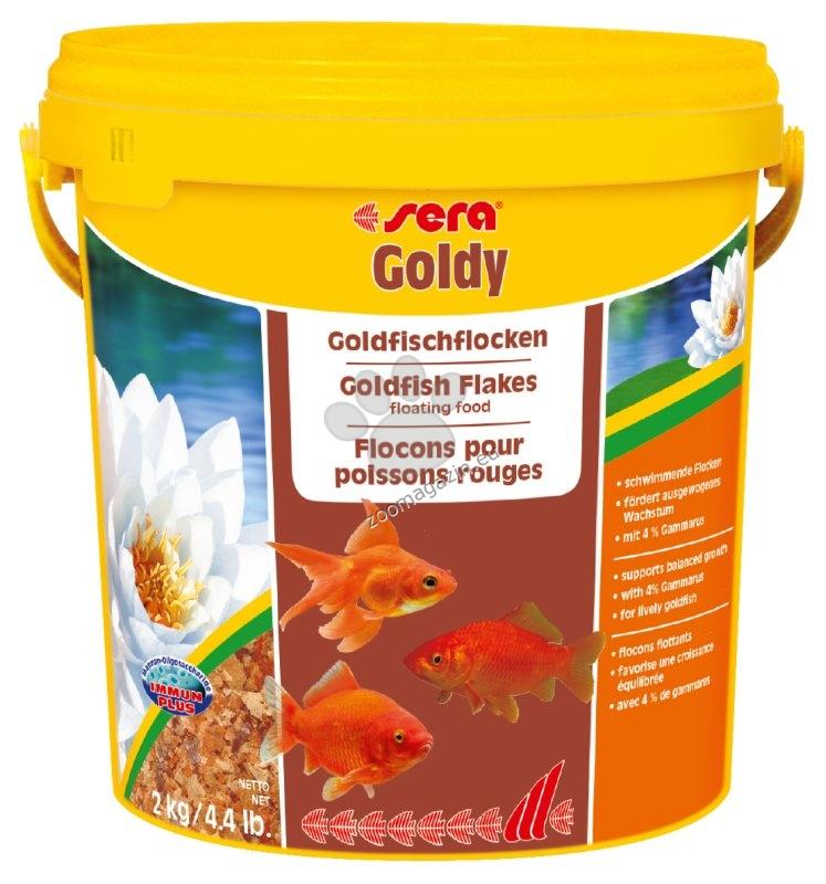 Sera Nature Goldy - основна храна за златни рибки без оцветители и консерванти 10 000 мл