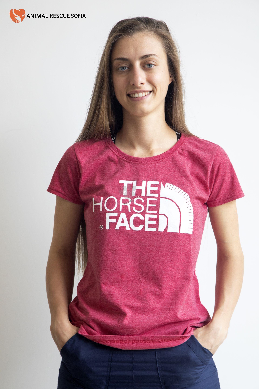 Animal Rescue Horse Face - дамска тениска с къс ръкав S, M, L, XL