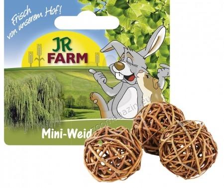 JR Farm Mr. Woodfield Mini Willow Play balls -  с натурална върба и хрупкави ябълки, за игра и гонене